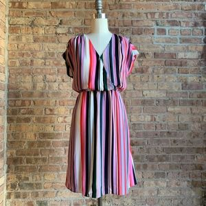 New Multistripe Dress